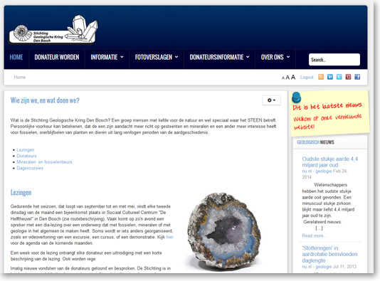 screenshot website v8